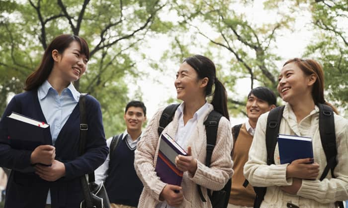 Students in China